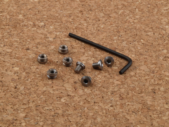 Picture of HD-318 Slim Line screw and bushing set, S/S