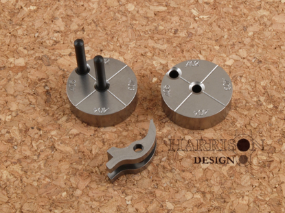 Picture of HD-806 True Radius PRO sear stoning jig