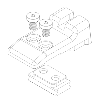 Picture of Installation Instructions for HD-001 Rear Sights