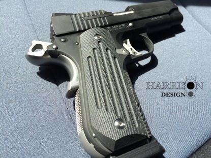 Picture of HD-302 Carry Groove grips, Round Bottom