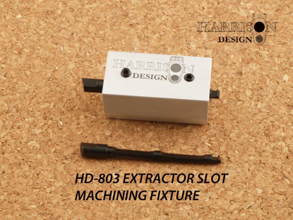 Picture of HD-803 Extractor Machining Fixture