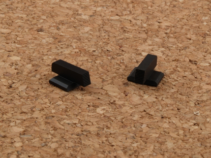 Picture of Plain Black Front Sight for Novak dovetails