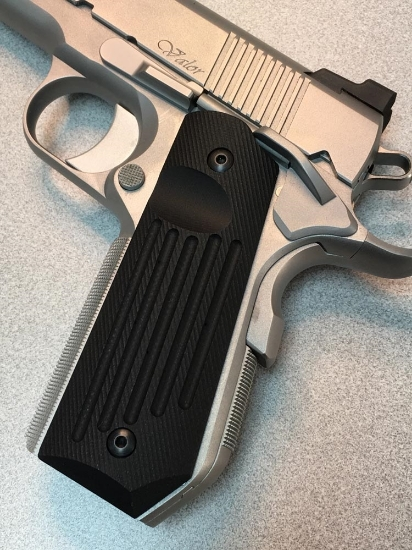 Picture of HD-307-TS Carry Groove Grips - Bob Tail - Thumb Scoop
