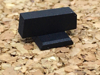 Picture of Plain Black Rear Sight for Heinie Dovetail